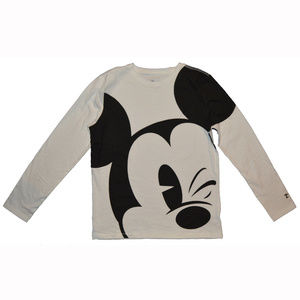 Gap Kids Mickey Mouse Long Sleeve Shirt